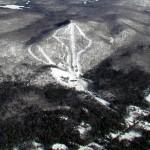 View of Oak Mountain Ski Area