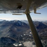 View of Mount Marcy from the east about 6,500' over Keene Valley