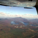 Lake Placid from the high pead to the south